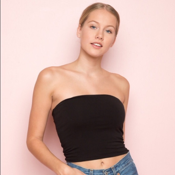 ff4c0d79ce8 Brandy Melville Black Jenny Tube Top